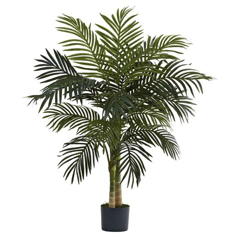 Nearly Natural 4 Ft Golden Cane Palm Tree5357  The Home