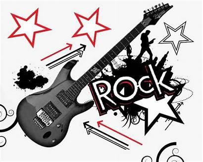 Rock Clip Star Clipart Roll Border Rockstar