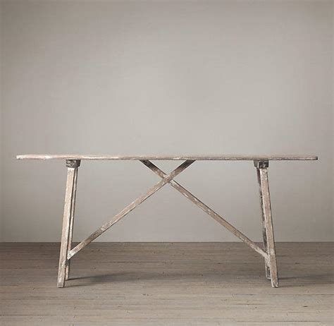 restoration hardware sofa table alsace studio console table i restoration hardware