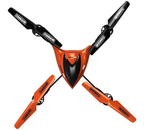 webrc  drone pro aircraft orange