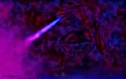 Wallpapers Beast Cgi Fantasy Dark Background Fire