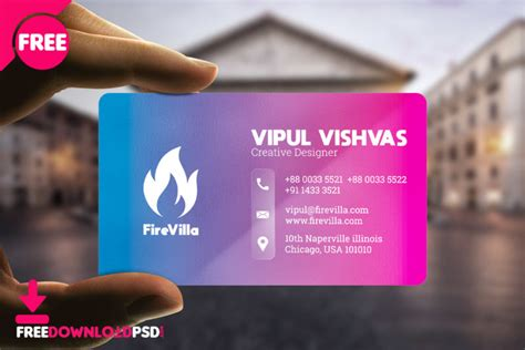 creative business card templates psd freedownloadpsdcom