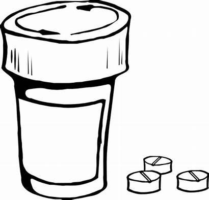 Bottle Pills Clip Svg Clker