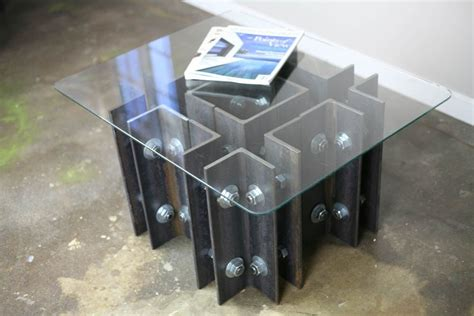 Buy A Hand Crafted Modern Industrial Coffee/end Table