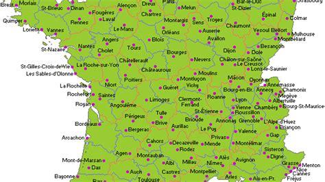 Carte De Avec Villes Principales Et Départements by Infos Sur 187 Carte De Avec Les Plus Grandes Villes