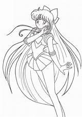 Sailor Coloring Moon Pages Minako K5worksheets Pluto Chibi Worksheets Sheets Printable Library Zerochan Via sketch template