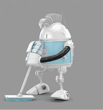 Robot Cleaning Giphy