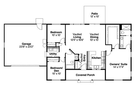 ranch house plans mackay    designs