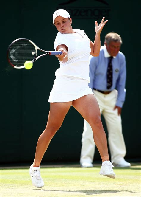 Vote for best athlete, women's tennis for the 2021 espys. Ashleigh Barty - Wimbledon Tennis Championships 07/07/2018 ...