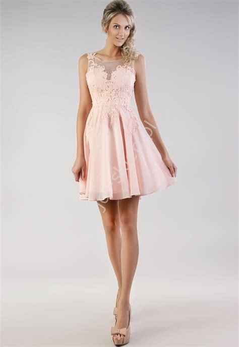 foto de Szyfonowa delikatna sukienka na wesele bal gimnazjalny