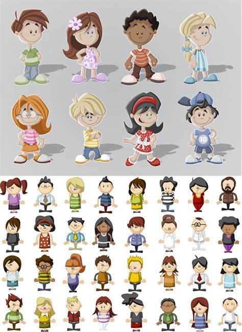 kids vector graphics blog page