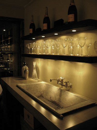 kitchen sink bars lighting with open shelves for a bar idea small 2576