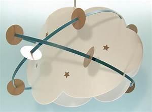 Suspension Chambre Bébé : suspension nuage luminaire et suspension chambre enfant ~ Voncanada.com Idées de Décoration
