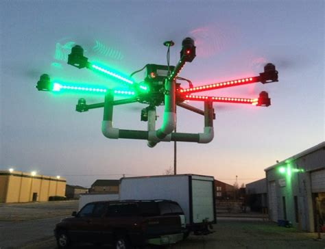 drone lights at night friday night in the big town drones photography and