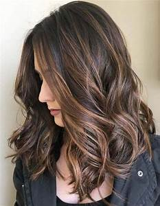Brown Hair With Chocolate Highlights 2019 Hairstyle 2019