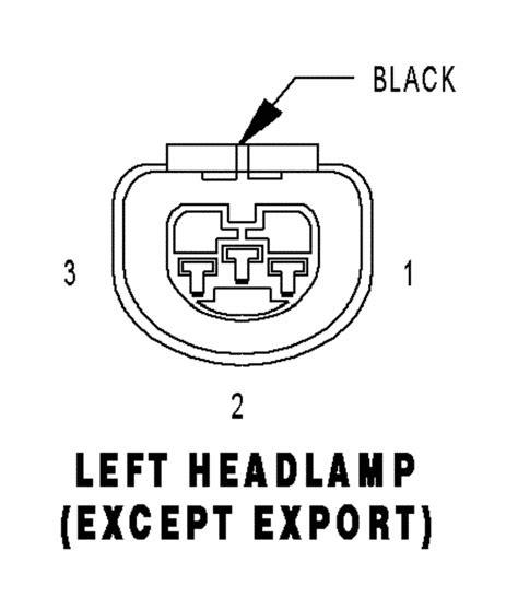 Wiring Diagram For Headlight Harness Chrysler