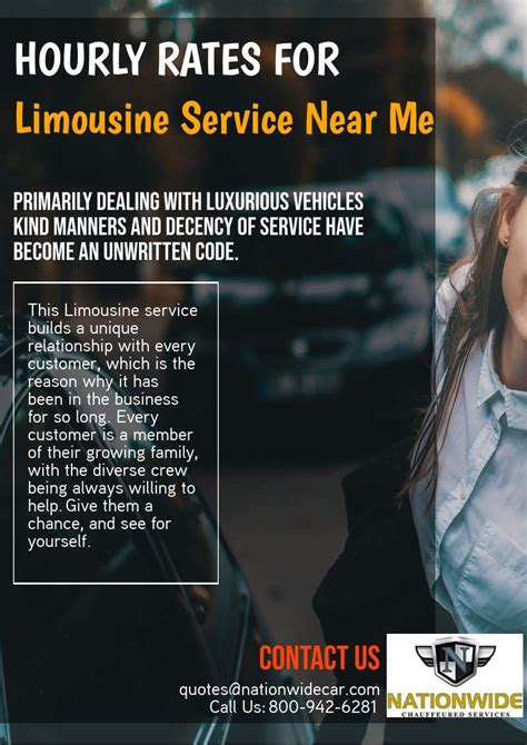Limousine Near Me by Hourly Rates For Limousine Service Near Me Call 24 7 800