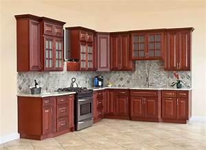 All, Solid, Wood, Kitchen, Cabinets, Cherryville, 10x10, Rta, 816124022480