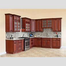 All Solid Wood Kitchen Cabinets Cherryville 10x10 Rta