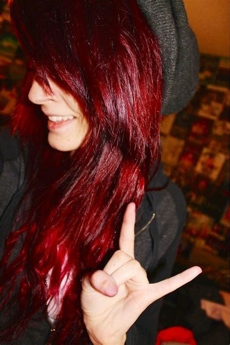 1000 Ideas About Red Scene Hair On Pinterest Scene