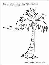Tree Coloring Palm Pages Patterns Prayer Colouring Christmas Discover Embroidery Hand Rug Painting sketch template