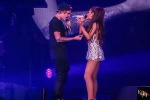 Ariana Grande Performing With Justin Bieber In Miami ...