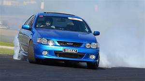 Ford XR6 turbo powerskid - YouTube  Ford