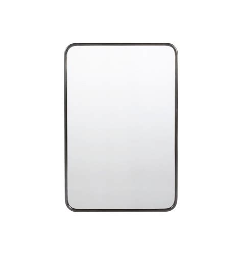 20 X 30 Bathroom Mirror by 20 Quot X 30 Quot Rounded Rectangle Metal Framed Mirror Slattery