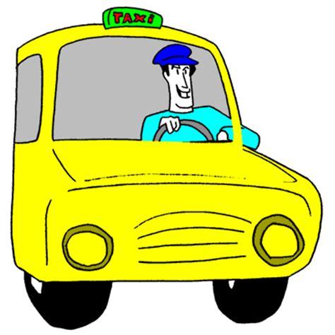 supir pengemudi taksi gif gambar animasi animasi bergerak  gratis