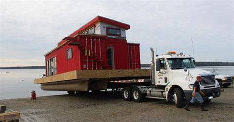 Boat Builder Shipping Container Home by Step Inside A Shipping Container Houseboat
