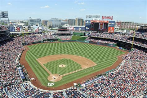 renaming nationals park washington nationals fans  twitter suggest  names federal baseball