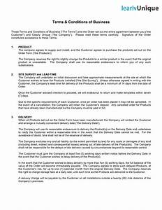 terms and conditions template tryprodermagenixorg With terms and conditions for services template