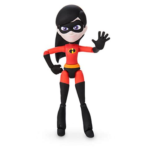 incredibles  violet toybox action