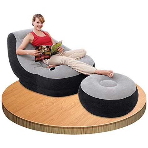 intex ultra lounge with ottoman new ebay