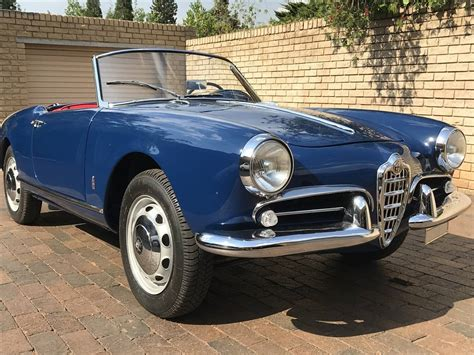 Alfa Romeo Giulietta Spider For Sale by Alfa Romeo Giulietta Spider 1958 For Sale Classic Trader