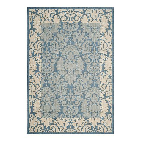 ballard outdoor rugs damask bordered indoor outdoor rug ballard designs