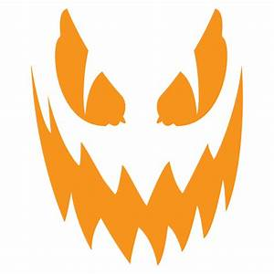 jack o39lantern pattern haunted halloween pinterest With scary jack o lantern face template
