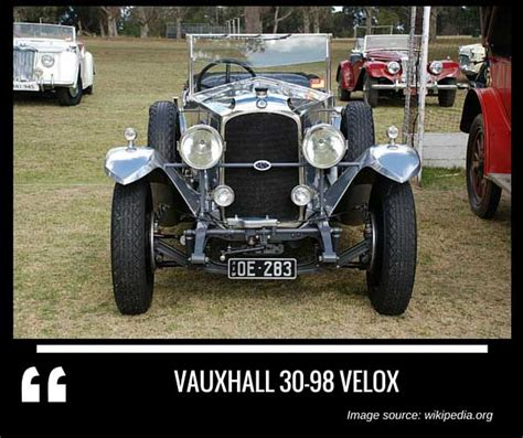 Complete List Of All Vauxhall