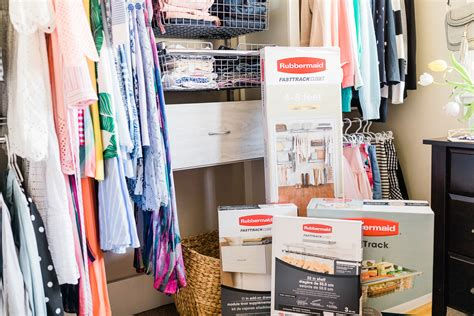 Fast Track Closet System by How To Refresh Your Closet With A Rubbermaid Fasttrack
