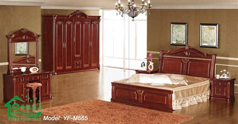 les chambre a coucher en bois bedroom furniture with 80 inch length wooden bed yf m665
