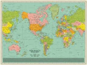 World Map with Song Titles