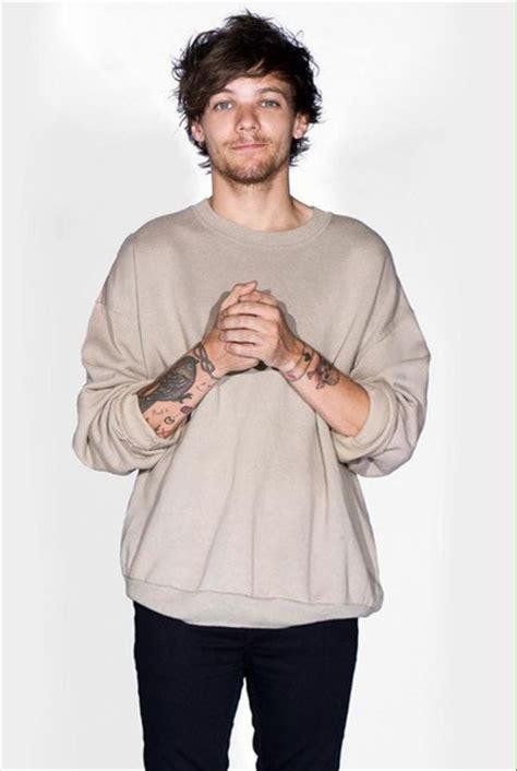louis tomlinson sweater sweater louis tomlinson beige one direction beige