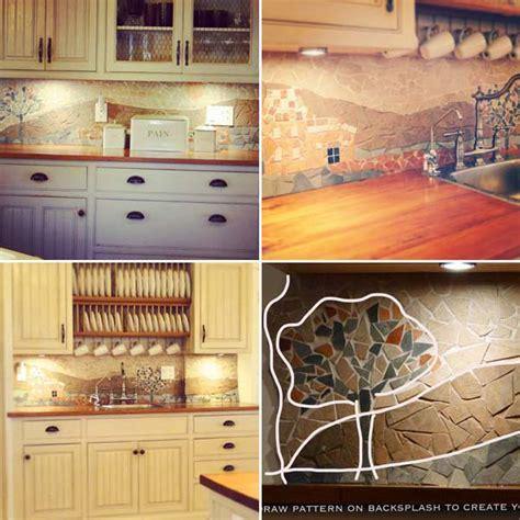 inexpensive backsplash for kitchen 24 cheap diy kitchen backsplash ideas and tutorials you