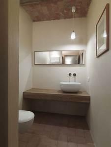Photos enduit argile realisations de murs en enduit a l for Enduit salle de bain