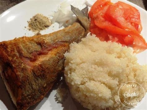 cuisine dorade attieke à la dorade royale côte d 39 ivoire la tendresse