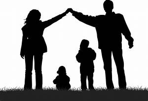8 Family Silhouette Vector Images - Family Symbol, Family ...