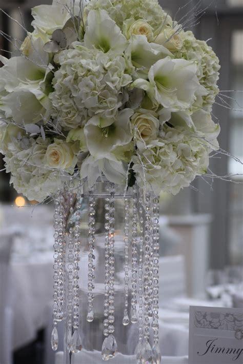 wedding  botleys mansion winter wonderland flowers