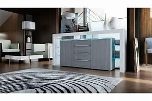 Eclairage Moderne : buffet moderne avec clairage pour salle manger ~ Farleysfitness.com Idées de Décoration