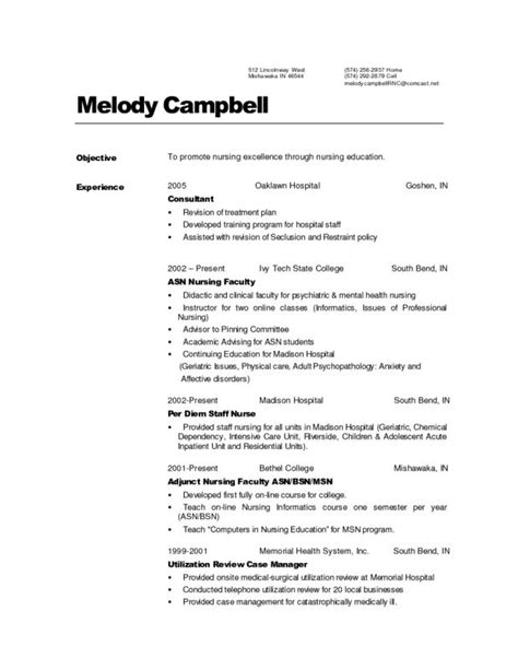 Project Management Professional Resume Sle by Resume Labor And Delivery Performance Professional