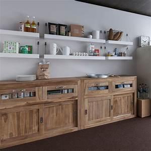 Meubles de cuisine en bois archives le blog deco de mlc for Idee deco cuisine avec meuble bois brut